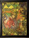LILANGA_023_Tingatinga_painting_goat_skin_1