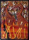 Tingatinga_painting_IBRA_giraffes_75x105cm_canvas_240Euro