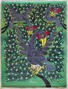 Tingatinga_painting_JEREMIAH_birds_JEREMIAH_62x80cm_canvas_160Euro