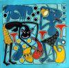 024_Tingatinga_painting_60x60cm_HENDRICK_LILANGA