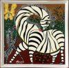 MOURIDI_zebras_Tingatinga_painting_041_30x30cm