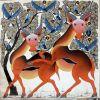 027_Tingatinga_painting_87x86cm_SAIDI_OMARY