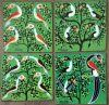 Tingatinga_MOURIDI_birds_painting_046_4x15x15cm