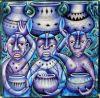 Tingatinga_painting_60x61cm_KIBWANA