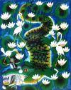 tingatinga_painting_crocodile_ABDALLAH_80x100cm