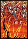 tingatinga_painting_giraffes_IBRA_75x105cm