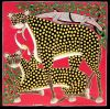 tingatinga_painting_leopards_HASSANI_75x75cm